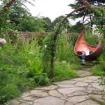 flower fairy garden
