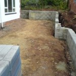 some retaining walls