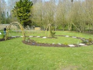 construction of sensory garden