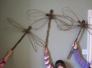 willow dragonflies