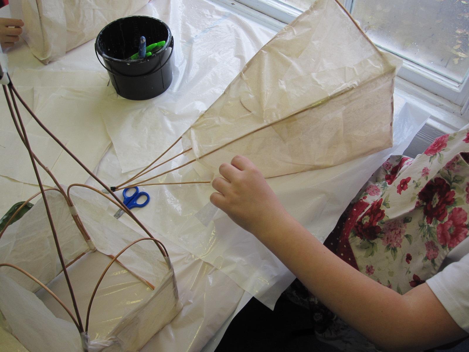 Lantern Making Workshops Shepton Mallet 171 Angela Morley