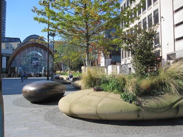 Landscape Garden Design Sheffield : Tudor square sheffield ? angela morley garden design