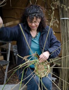 Angela Morley - Wild Gardens - Sculptural Willow Weaving